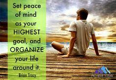 #peaceofmind #personaldevelopment #achievetoday