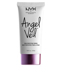 Create the perfect base for long-lasting makeup with NYX Professional Makeup Angel Veil Skin Perfecting Primer, a lightweight face primer that paves the way for smooth, flawless makeup application. Make Up Primer, Primer For Dry Skin, Face Primer, Best Primer, Flawless Makeup, Gorgeous Makeup, Drugstore Primer, Makeup Products, Beauty Products
