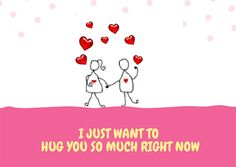 Is your #FridayFeeling cuddlesome? Share it with the one you wanna #hug with this #ecard. #love