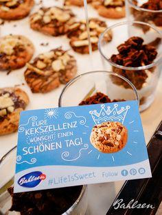 Eure Kekszellenz wünscht einen schönen Tag! // Your cookielicious majesty wishes you a wonderful day! #LifeIsSweet #Bahlsen #SweetOnStreets #Kiel