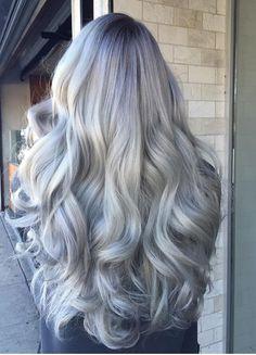 Silver hair   @jacquelinejarboe