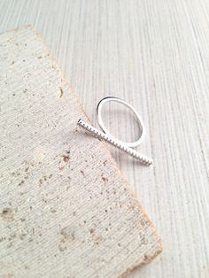 Hey, I found this really awesome Etsy listing at https://www.etsy.com/listing/513309861/bar-ringcubic-bar-ringsilver-bar