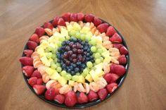 minha versão do arco-íris de frutas.  por Alyce