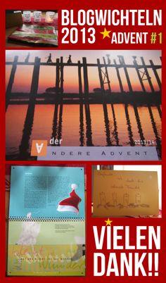 """Geschenk 1. Advent * Anja vom Blog anjandrozeitlos an Tanja von Wissenswürze * Adventskalender """"Der andere Advent"""""""
