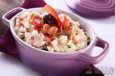 Receita de Arroz cremoso com jamón em receitas de arroz, veja essa e outras receitas aqui!