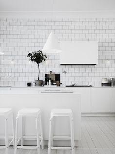 Enamorate del blanco y las texturas