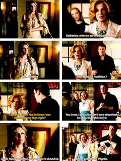 I laughed! Love that Beckett knows Castle well enough to know that either A) his family is crazy and dresses up for Thanksgiving [and she's willing to as well] or B) Castle's teasing her and she's ready to deal with it! So great!