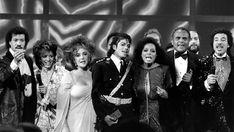 Diana Ross, Michael Jackson, Elizabeth Taylor and Lionel Richie