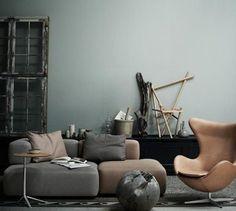 Wohnen mit Farben - Wandfarben und Möbel in dunklen Farben aus der Natur - [SCHÖNER WOHNEN]