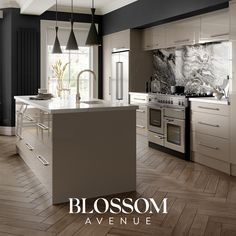 Your Kitchen, Your Location. Open Plan Kitchen Dining Living, Living Room Kitchen, Home Decor Kitchen, Kitchen Interior, Kitchen Design Open, Luxury Kitchen Design, Taupe Kitchen, Handleless Kitchen, Kitchen Models