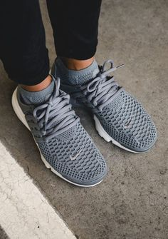 new style 88e5c fbaa6 NIKE Wmns Air Presto Flyknit cool grey - footgearlab Workout Shoes, Nike