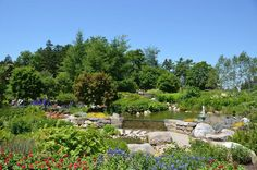"""""""The Lerner Garden of the Five Senses is full of sights, smells, tastes, sounds, and things to touch!"""" (Coastal Maine Botanical Gardens, Facebook share)"""