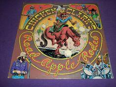 """Chicken Clark's Road Apple Rodeo / 12"""" Vinyl LP Record / Baldwin CS 8290 / 1979"""