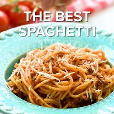 Caramel Apple Sangria - The Wholesome Dish Best Spaghetti Recipe, Homemade Spaghetti Sauce, Spaghetti Recipes, Chili Recipes, Crockpot Recipes, Cooking Recipes, Breakfast Casserole Easy, Breakfast Recipes, Zucchini Chips