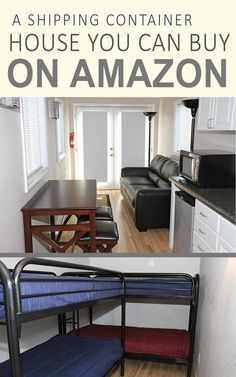 A Prefab Shipping Container Home You Can Buy on Amazon!  www.shippingcontainerideas.com