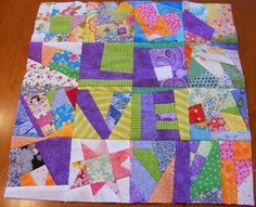 Crumbs sampler by Quilted Cupcake, via Flickr