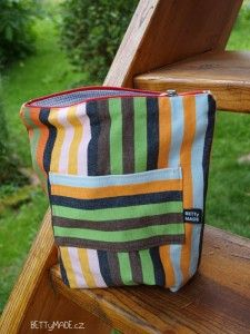 zippered pouch for men