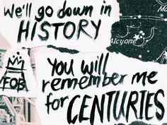 Centuries by Fall Out Boy
