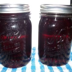 Apple or Grape Jelly made with Canned Juice