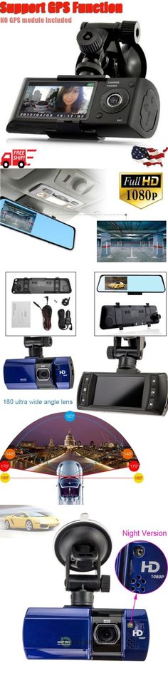 DVRs Hard Drive Recorders: Hd Dual Lens Camera Car Dvr Dash Cam Video Recorder Gps Night Vision G-Sensor Hm -> BUY IT NOW ONLY: $40.61 on eBay!