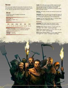 RPG sandbox — The Book of Hordes - Rules for Mass Warfare by. Dungeons And Dragons Rules, Dnd Dragons, Dungeons And Dragons Homebrew, Dungeons And Dragons Characters, Dnd Characters, Dark Souls, Dnd Stats, Dnd Classes, Dungeon Master's Guide