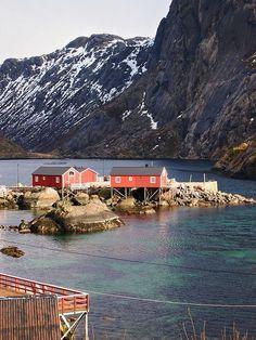 Nusfjord-Fishing Village-Lofoten Island  Adventure   #MichaelLouis - www.MichaelLouis.com