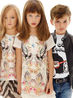 #RobertoCavalli Junior SS 2013 collection