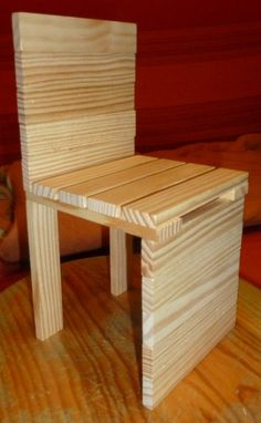 chaise kapla Wooden Building Blocks, After School Club, Engineering Projects, Greggs, Science For Kids, Plank, Martial, Ikea, Furniture