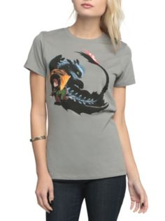 How To Train Your Dragon 2 Somersault Girls T-Shirt