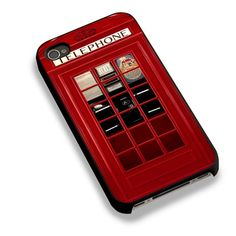 Classic British Red Telephone Box For iPhone 6 Case