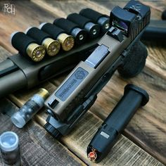 Keep calm and glock on. Custom pig (posted by @realdirtyharry)