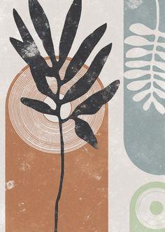 Collage Des Photos, Stencil Printing, Terracotta, Line Art, Poster Prints, Posters, Art Decor, Watercolor Paintings, Stencils