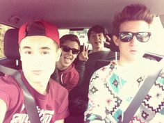 I love it when they would all travel, like take road trips, together :)