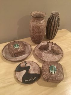 Mccarty Pottery, Pottery Making, Ceramic Artists, Cool Rooms, Mississippi, Amber, Southern, Place Card Holders, Clay