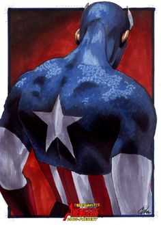 Avengers:Captain America III by *gattadonna
