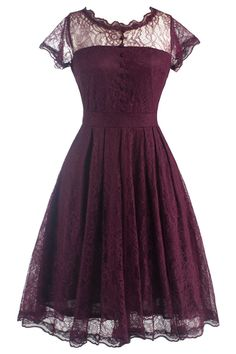 #AdoreWe #CupShe CupShe Melody Of The Night Lace Dress - AdoreWe.com