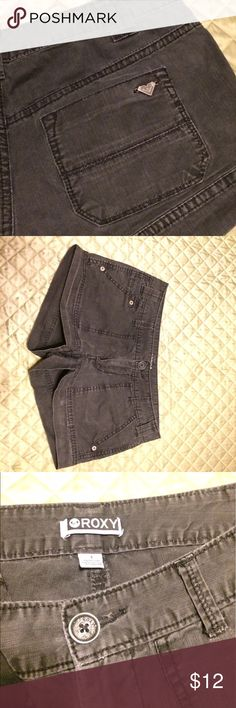 Roxy Black shorts Cute structured Roxy Brand Shorts some fade which only adds more character Roxy Shorts