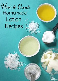 Creating lotion from scratch can seem a little bit daunting. There are so many ingredients to choose from! This post breaks down popular lotion ingredients to help you formulate your own unique recipe.