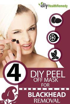 4 DIY Peel Off Mask For Blackhead Removal