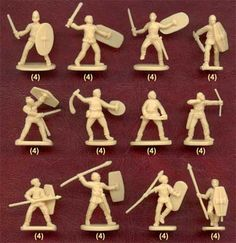 Hat Industrie - Plastic Figures - Gallic Warband  -Could be useful