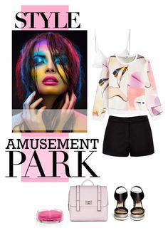 """Cotton Candy"" by bjigg ❤ liked on Polyvore featuring moda, T By Alexander Wang, Kenzo, Forever New y Nicholas Kirkwood"