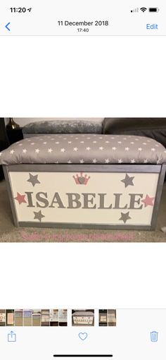 Personalised Toy Box, Toy Boxes, Toys, Activity Toys, Clearance Toys, Toy Chest, Gaming, Games, Toy