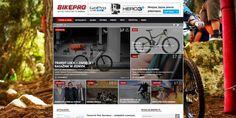 http://www.bikepro.pl/ Popularny portal rowerowy. Artykuły na tematy takie jak:nowości sprzętowe, testy, turystyka, poradniki, trasy i inne.