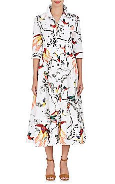 Kasia Cotton A-Line Shirtdress