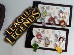 League of Legends Phone Straps 10pcs