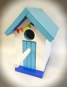 Your place to buy and sell all things handmade Bird Houses Painted, Bird Houses Diy, Garden Projects, Home Projects, Bug Hotel, Birdhouse Designs, Bird House Kits, Bird Aviary, Bird Boxes