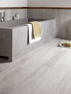 Wall/floor tiles with wood effect SOLERAS by ABK Industrie Ceramiche #bathroom @abkemozioni #archiproducts