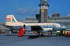 Malev Ilyushin at Liverpool Airport in March 1966 Aviation Humor, Civil Aviation, Russian Plane, Back In The Ussr, Liverpool City, Passenger Aircraft, Air Space, Engin, Air Travel