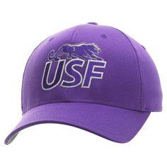 University of Sioux Falls Cougars Fundamental Flex Hat - Purple