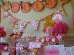 Tutu Cute First Birthday Theme